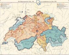 Svizzera Map