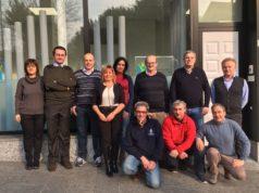 Foto di gruppo evento Prevenzione del Rischio da caduta - Luino