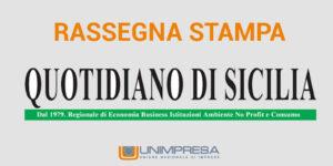 Quotidiano di Sicilia – Unimpresa al fianco delle società sportive