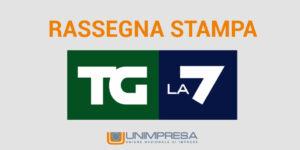 Tg La7  – Ristori, Gualtieri: 'Rinvio imposte per tutti i settori in perdita'